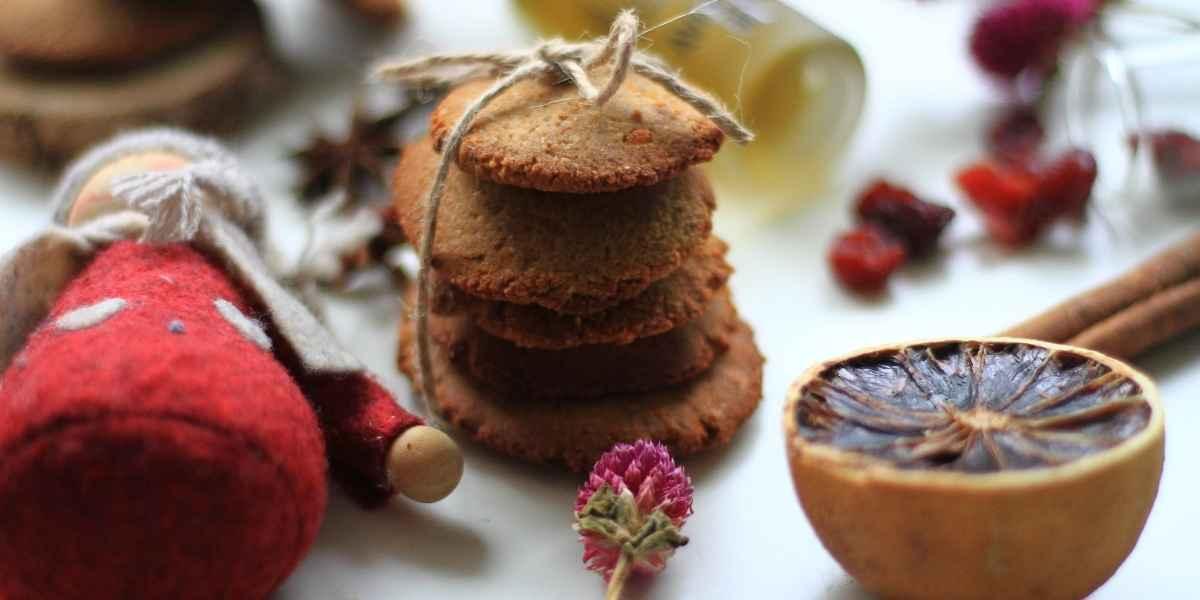 biscotti spezie dal libro Christmas love